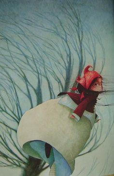 Rebecca Dautremer Ilustration