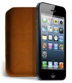 iPhone 5 Sleeve Brown