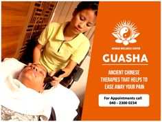 "Gua Sha means""scraping sha-bruises"", is a traditional Chinese medical treatment in which the skin is scraped to produce light bruising. Practitioners believe gua sha releases unhealthy elements from injured areas and stimulates blood flow and healing. These might sound weird but they surely have done wonders for people. One must try it to believe it.  #Guasha #Facial #Skin #Beauty #Cosmetic #Health #Wellness"