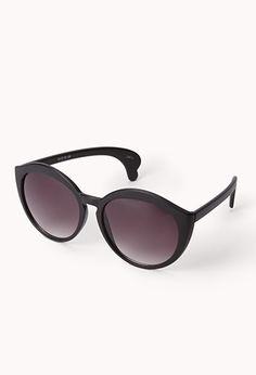 F6115 Round Matte Sunglasses   FOREVER21 - 1000076115