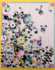 Quilling - I was thinking of trying quilling.......but geeze, check this out, now I'm quite intimidated!