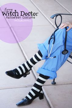 Halloween is fast approaching, which means it& time to start thinking about your costume. But have no fear! If you love a good pun and are on a budget, I have 30 easy DIY costumes ideas that will have everyone impressed. Cereal Killer Who wants to. Doctor Halloween Costume, Halloween Costumes For Work, Easy Diy Costumes, Creative Costumes, Cool Costumes, Costumes For Women, Halloween Diy, Costume Ideas, Pun Costumes