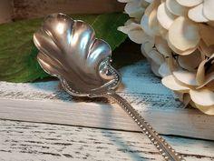 Vintage Sterling Silver Scalloped Gravy/Soup Spoon!!!   | eBay