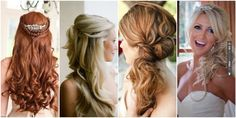 Wedding Hairstyles: 15 Long, Flowing Locks for Your Big Day!   CHECK OUT MORE IDEAS AT WEDDINGPINS.NET