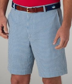 aa46f26772 Southern Tide Seersucker Shorts-Gingham Flat Nautical Blue | #mondouomo  #naples #fashion