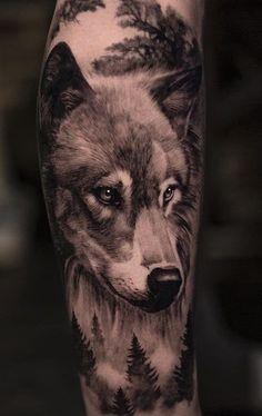 Wolf Sleeve, Wolf Tattoo Sleeve, Tribal Sleeve Tattoos, Leg Tattoo Men, Realistic Tattoo Sleeve, Wolf Tattoos Men, Animal Tattoos, Tattoos For Guys, Celtic Tattoos
