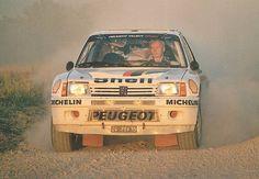 Ari Vatanen on 205 T16
