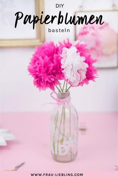 DIY decoration: make paper flowers quickly and easily DIY paper flowers from napkins – quickly and easily make beautiful flowers as decorations or gift Origami Fish, Origami Paper, Diy Paper, Origami Flowers, Paper Flowers Diy, Homemade Crafts, Diy And Crafts, Square Nail Designs, Origami For Beginners