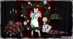 Queen of Hearts Location: Vixen's Creative Studios Photographer & Model: Michaela Vixen Set Design & Creation: Michaela Vixen Vixen's Log - More Info & Credits Here