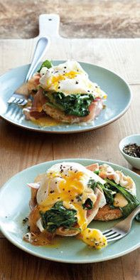 Eggs Benedict – Famous Last Words Sunday Breakfast, The Breakfast Club, Egg Benedict, Veggie Recipes, Soul Food, French Toast, Veggies, Healthy Eating, Low Carb