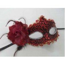 Μάσκα κόκκινη lux, a0440