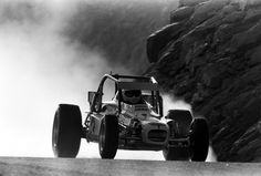 Danny Arant in the 1983 Pikes Peak Hill Climb . Newman-Dreager race car VW motor, car still survives today