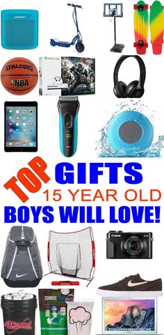 Gift Ideas Anywhere Top Gifts For 15 Year Old Boys