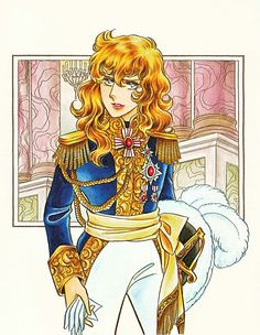 Riyoko Ikeda became famous in the of her historical Manga Rose of Versailles and still is one of the most beloved illustrator. Real Anime, Anime One, History Of Manga, Lady Oscar, My Favorite Image, Anime Style, Vintage Japanese, Manga Art, Princess Zelda