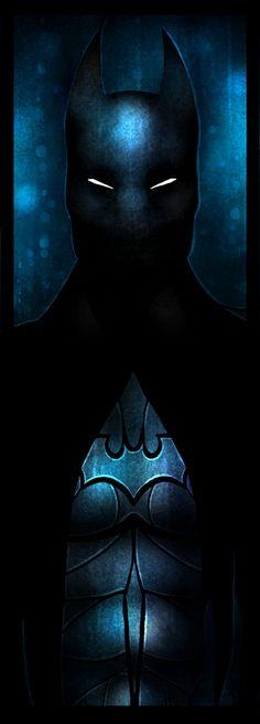 Darkest Knight Art Print