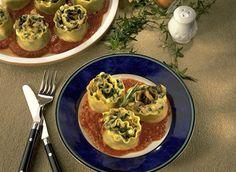 Vegetable Lasagna Swirls recipe | Dairy Goodness