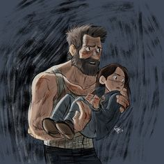 Logan and Laura again by Renny08 on DeviantArt