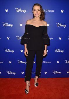 The Last Jedi and Vogue Cover Star Daisy Ridley's Futuristic Red Carpet Fashion