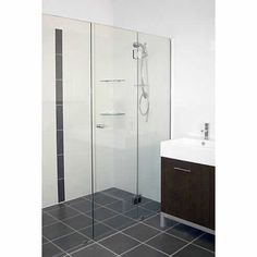 Ultima frameless shower screens from Kewco Products