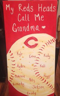 Cincinnati Reds Grandma