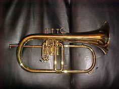 "Kanstul 1025 ""Chicago"" Flugelhorn... like mine, but without the third-valve slide trigger.  Sweet horn."