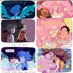 my collab with spookumi Greg Universe, Universe Art, Steven Universe Stickers, Steven Universe Pictures, Steven Univese, Lapidot, Fictional World, Anime Manga, Anime Meme