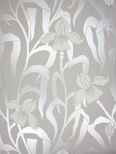 Papel Pintado Osborne & Little Iris W5730-03 . Disponible online en Modacasa.es