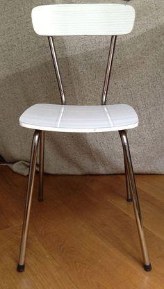 Chaise formica, comme dans la cuisine de mamie !!!!