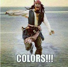 Colors!!!!  Marine Corps humor lol