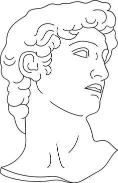 Roman Drawings, Outline Drawings, Art Drawings Sketches Simple, Desenhos Van Gogh, Desenho Tattoo, Abstract Line Art, Flash Art, Greek Art, Classical Art