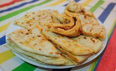 Чеченский Хингалш – вайнахские лепешки с тыквой (Chechen Hingalsh) на сухой сковороде
