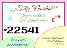 enrHedando: Como hacer Participaciones de Loteria de Navidad