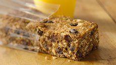 Gluten Free Cookie Dough Energy Bars Recipe