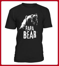 Papa Bear Best Dad TShirt Fathers Day Father Pop Gift Limited Edition - Shirts für partner (*Partner-Link)