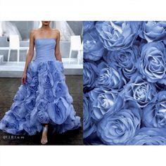 Blog PHOTO & L' ART  • Monique Lhuillier S/S 2015 Wedding. Photo via moniquelhuillier.com • & • Blue roses (wallpaper) •  Dress: @moniquelhuillier #MoniqueLhuillier All collages by tag ;)  #LiliyaHudyakova