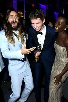 Jared Leto at Vanity Fair Oscar Party hosted by Graydon Carter at the Wallis Annenberg Center for the Performing Arts, Beverly Hills, California.- 22-02-2015