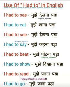 English Grammar Tenses, Teaching English Grammar, English Sentences, English Writing Skills, English Phrases, English Lessons, English Speaking Practice, English Learning Spoken, Learn English Words