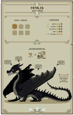 Monster Hunter Art, Pixel Animation, Fantasy Landscape, Art Tips, Pixel Art, Doodles, Creatures, Deviantart, World