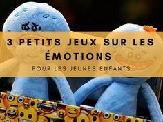 3 petits jeux sur les émotions jeunes enfants Yoga For Kids, Diy For Kids, Emotional Child, Relaxing Yoga, French Class, Parenting Fail, Les Sentiments, Air Pollution, Working With Children