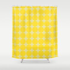Yellow Candy Shower Curtain by Georgiana Paraschiv | Society6