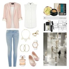 """""""~ Supergrass - Alright ~"""" by isa-wonder-woman ❤ liked on Polyvore featuring River Island, Armani Jeans, 7 For All Mankind, Bobbi Brown Cosmetics, Pernille Corydon, Jules Smith, Marc by Marc Jacobs, Elie Saab and Astrid & Miyu"""