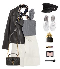 """""""Train rides."""" by greciapaola ❤ liked on Polyvore featuring Étoile Isabel Marant, Acne Studios, Superga, Yves Saint Laurent, Marc Jacobs, Chanel and NARS Cosmetics"""