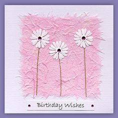 Handmade Birthday cards that you won't find on the High Street