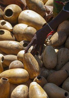 Calabashes Sold On A Market, Bati, Amhara Region, Ethiopia by Eric Lafforgue, via Flickr