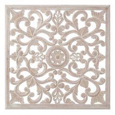 Comprar online Murales tallado natural lavado beige de madera para decoración, para decorar las paredes de tu hogar con un aire nuevo | www.dcasa.es