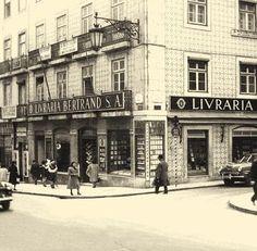 Coisas Portuguesas com Certeza ®: Livraria Bertrand - Chiado, sabia que é a mais antiga do mundo?