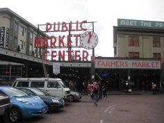 Pike Place Market! Seattle, WA