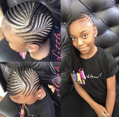 Girls natural hairstyles, kids braided hairstyles at cornrow styles for . Cute Hairstyles For Kids, Girls Natural Hairstyles, Baby Girl Hairstyles, Kids Braided Hairstyles, Girl Haircuts, Black Girls Hairstyles, Natural Hair Styles, Trendy Hairstyles, Hairstyles Pictures
