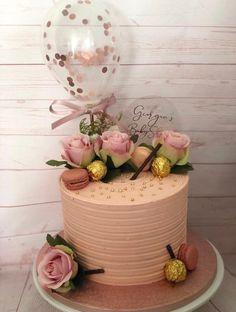 Chevron Straws Birthday Pink Confetti Cake Topper Balloons 5 Party Balloon Bouquet Hen Party Oh Baby One Princess Unicorn Wedding