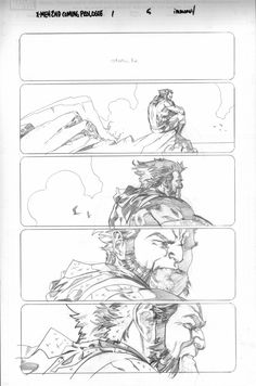 X-Men #5 - Wolverine by Stuart Immonen *